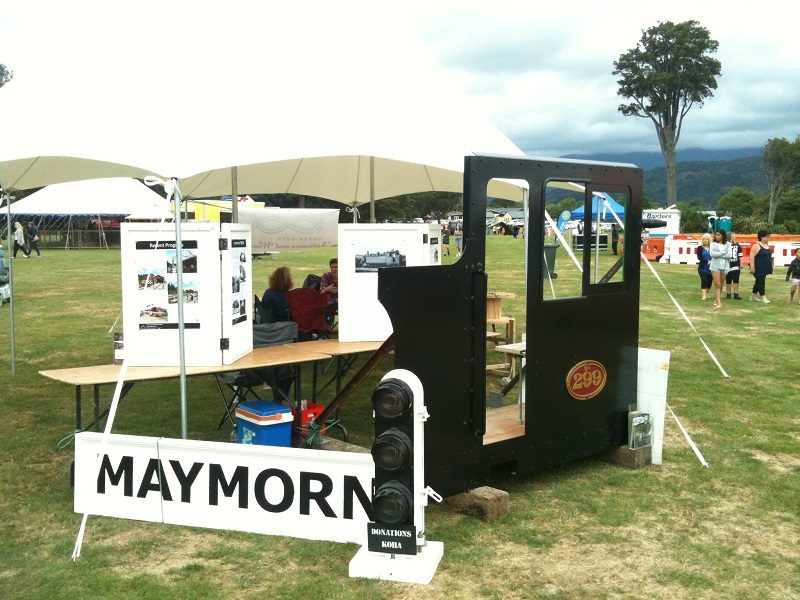 Our display at Summer Carnival, Trentham Memorial Park.