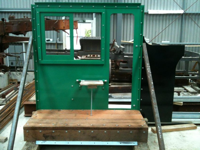 Wb 299 cab side in shed