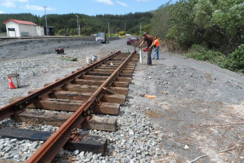Extending mainline at Maymorn