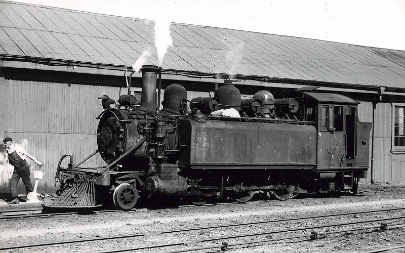Another classic view of Wb 299 being shunted at Westport loco depot in November 1951. Photo: J. Creber.